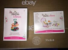 NIB AMERICAN GIRL WELLIE WISHERS BERRY SWEET SNACK STAND & GIGGLES & GRINS PLAY