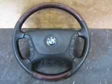 BMW E39 5ER MULTIFUNKTIONSLENKRAD LEDERLENKRAD LENKRAD MUSCHELAHORN  6756414
