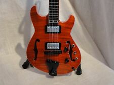 PHISH TREY ANASTASIO SIGNATURE OCELOT  MINIATURE REPLICA GUITAR NIB
