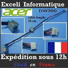 conector jack de cc alambre de cable dw300 ACER Aspire 5552 5552G conector