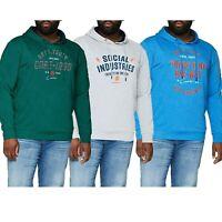 Jack & Jones Men's Big & Tall Size Printed Hoodies Long Sleeve Pullover Tops