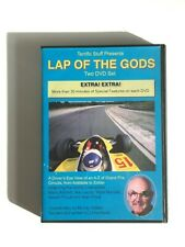 LAP OF THE GODS - in car footage 70s & 80s Formula One - 2 x DVD OOP