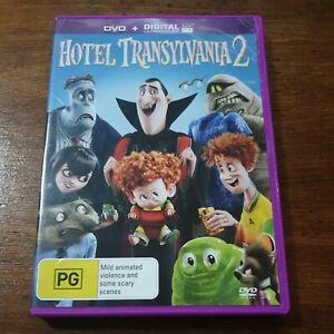 Hotel Transylvania 2 DVD R4 Like New! FREE POST