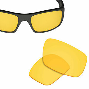 Replacement Lenses for-OAKLEY Crankshaft Sunglasses HI-DEF Yellow 100% UVA&UVB