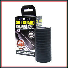 E-TECH CAR DOOR SILL & LOWER BODYWORK PROTECTOR / TRIM GUARD BLACK