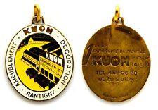 Medaglia Con Smalti KUOM Ameublement Decoration Rantigny 1.ere Exporoute Du Méub