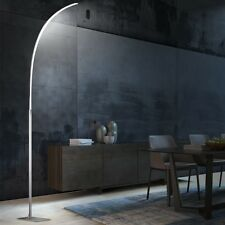 Hochwertige LED Stehlampe länglich 12,6 Watt Höhe 150 cm Wohnzimmer Diele Büro