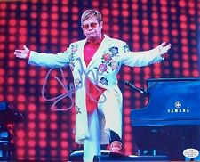 ELTON JOHN: Independently authenticated signed photo. 'Candle in the Wind'.
