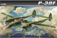 [1/48] 12208 P-38F LIGHTING GLACIER GIRL ACADEMY HOBBY MODEL KITS