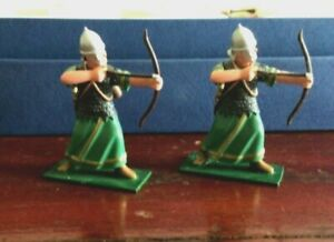 5 Ancient Roman Hamian archers. Regal toy soldiers Soldiers of the World 54mm