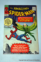 Amazing Spider-Man 7 Marvel Comic Book  1963 2nd appearance of the Vulture F-VF