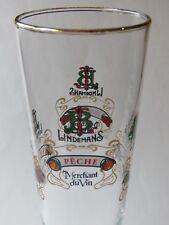 a567d8c3738afc Bière Tige Verre   Lindemans Original Lambic Brewery Est 1822 ~ Feu,Cassis, Kriek
