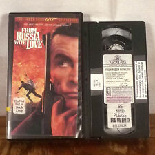 James Bond 007 From Russia with Love VHS Movie Film Sean Connery