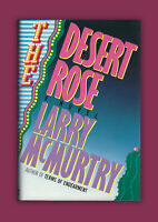 The Desert Rose Larry McMurtry Signed HC 1st Edition, 1st Print Book