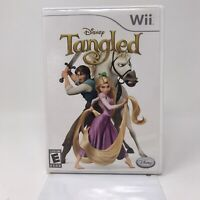 Disney Tangled (Nintendo Wii, 2006)  Complete Tested