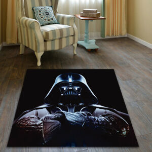 Star Wars Darth Vader Anti-Skid Area Rug Living Room Floor Mat Carpet All Sizes