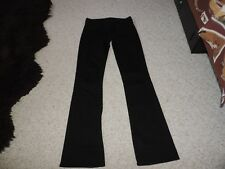 7 For All Mankind Womens Black Denim Bootcut Jeans 26 NEW NWOT