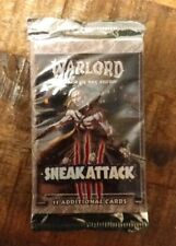 Warlord Saga Of The Storm Sneak Attack Booster Pack Factory Sealed
