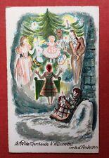 CPA. Illustrateur LECHANTRE. La Petite Marchande d'Allumettes. Conte d'Andersen.