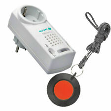 Pflegeruf-set mit Funk-halsbandsender und Steckdosen-empfänger
