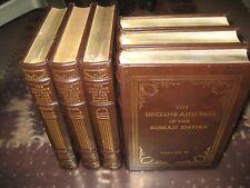 Easton Press Decline and Fall of The Roman Empire E Gibbon 6 Volume Complete Set