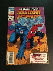 SPIDER-MAN: THE MUTANT AGENDA #1 1993 MARVEL NM+