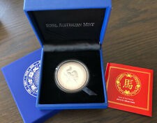 2014 Australia Year of the Horse Silver $1 Original Coin