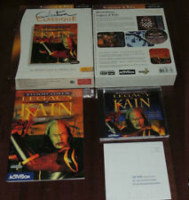 BLOOD OMEN THE LEGACY OF KAIN 1997 SILICON KNIGHTS SOUL REAVER COMPLET PC BIGBOX