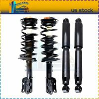 For 2007-2009 Chevy Equinox Front Complete Struts Spring + Rear Shock Absorber