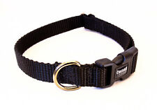 """3/8 Inch Width Nylon Buckle or Martingale Dog Collars - 3/8"""" Various Colors"""