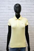 TOMMY HILFIGER Donna Polo Maglia Taglia S Camicia Shirt Women Jersey Frau Casual