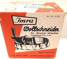 Wool Cutter For Smyrna Work. German Made Vintage