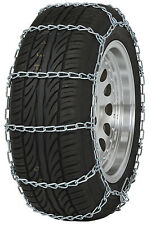 "225/55-15 225/55R15 Tire Chains ""PL"" Link Snow Traction Device Passenger Car"