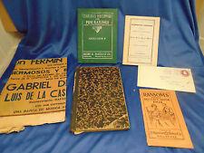 Ephemera collectors 1892 German book 1827 Washington DC Directory 1909 Ramsom's