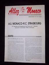 ORIG. prg 1. liga Francia/1. Division 1996/97 as mónaco-RC Strasbourg!!!