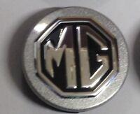 GENUINE MG / SAIC ALLOY WHEEL CENTRE CAP X  SILVER / BLACK 56mm ZT TF MG3 MG6