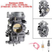 New CV 40mm Carburetor For Harley Davidson 27421-99C 27490-04 Performance Tuned