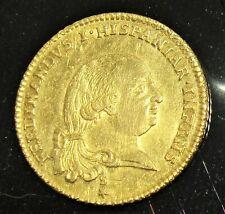 Italien: Parma. Fernando Di borbone Gold Doppia 1786-S. Au