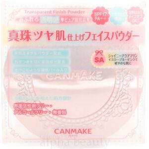 Canmake Japan Transparent Finishing Pressed Powder (10g/0.3 fl.oz) SPF30 PA++