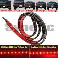 Tailgate Bar 60 inch 5-Function New 2835 LED Red White Brake Turn Reverse Light
