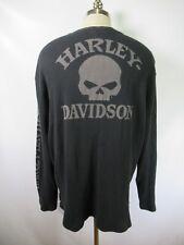 G4483 Men's Harley Davidson Motorcycle Biker Long Shirt Size 2XL