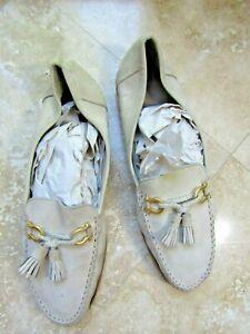 BALLY Switzerland Kaftan New Buck Suede Leather Loafers Size US 13W