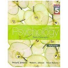 Psychology : Core Concepts DSM 5 7th edition