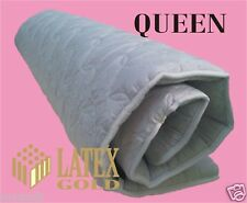 LATEX FOAM MATTRESS OVERLAY 5CM - QUEEN- TOPPER