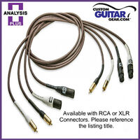 Analysis Plus Chocolate Oval-In Interconnect Cables - Length 0.5M - XLR-XLR
