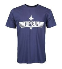 Top Gun Original T-Shirt Paramount Film Fan Merchandise blau