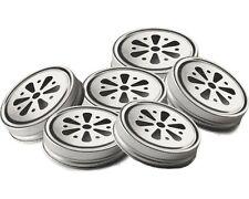 6 x Kilner FLOWER LIDS for Drinking HANDLED mugs Preserve JARS - Set of 6