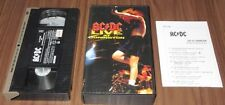 Japan OFFICIAL VHS video tape NTSC - AC/DC Live At Donnington - PROMO issue!