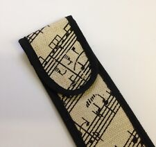 New Recorder bag with attractive printed music design would make a nice Gift
