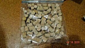 Lot of 70 Size 8 Natural Cork Laboratory Stopper